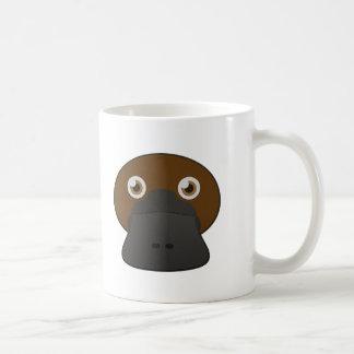 Platypus Pato-Cargado en cuenta papel Taza De Café