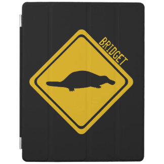 platypus road sign iPad smart cover