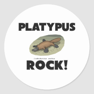 Platypus Rock Sticker