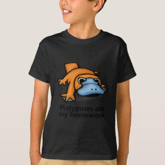 Platypuses comió mi preparación camisas