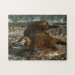 Platypuses Jigsaw Puzzle at Zazzle