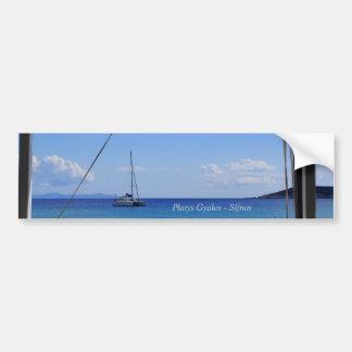Platys Gyalos - Sifnos Bumper Stickers