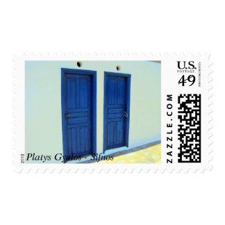 Platys Gyalos - Sifnos Postage Stamp