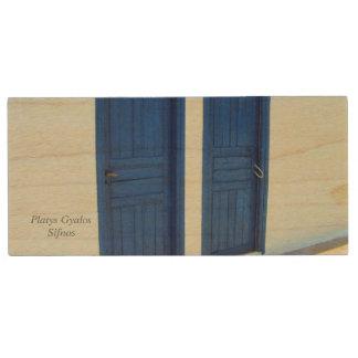 Platys Gyalos - Sifnos Wood USB 2.0 Flash Drive