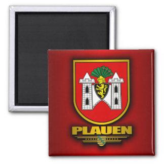 Plauen 2 Inch Square Magnet