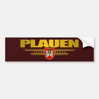 Plauen Car Bumper Sticker