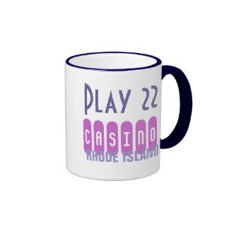 PLAY 22 CASINO mug