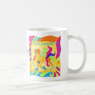 Play a Little Chick Magnet Mug