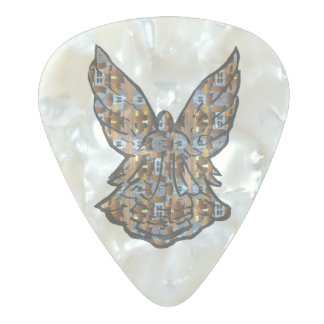 Play a Little Tune For Heaven- For Heaveeeen Pearl Celluloid Guitar Pick