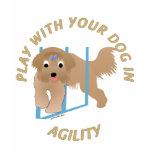 Play Agility Beardie Tshirt