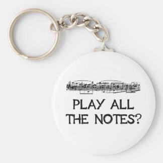 Play all the notes? keychain