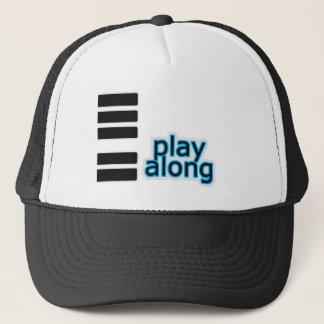 Play Along - Piano Trucker Hat