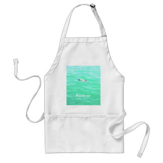play always crystal baby dolphin adult apron