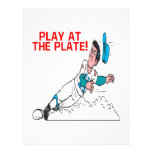 Play At The Plate Personalized Flyer