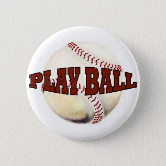 PLAY BALL 1 PINBACK BUTTON
