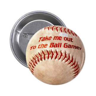 Play Ball 2 Inch Round Button
