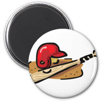Play Ball 2 Inch Round Magnet