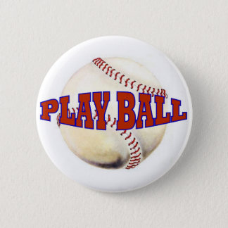 PLAY BALL 2 PINBACK BUTTON
