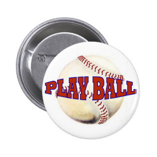 PLAY BALL 2 PINBACK BUTTON
