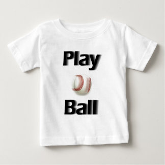 Play Ball Action Baby T-Shirt