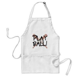 Play Ball! Adult Apron