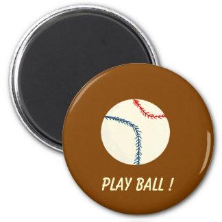 PLAY BALL ! - baseball magnet