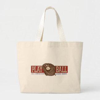 Play Ball Baseball Tote Bags