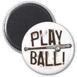 Play Ball - Bat Bump Magnet