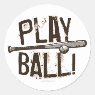 Play Ball - Bat Bump Sticker