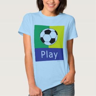 Play Ball Brazil Soccer T-Shirt