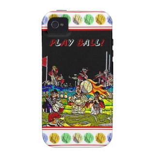 Play Ball iPhone 4 Covers
