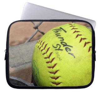 Play Ball Electronics Bag Laptop Computer Sleeve