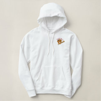 Play Ball Embroidered Hoodie