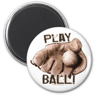 Play Ball! Glove Magnet