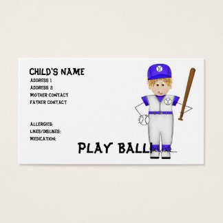 Play Ball! Mommy Cards