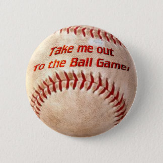 Play Ball Pinback Button