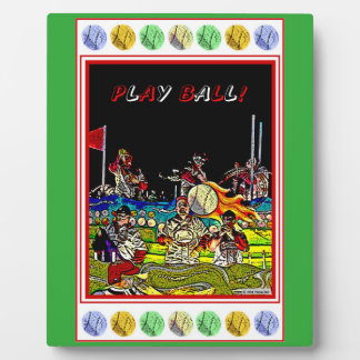 Play Ball Plaque