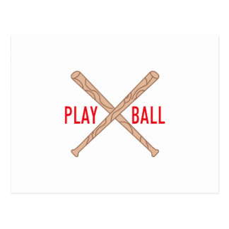 Play Ball Postcard