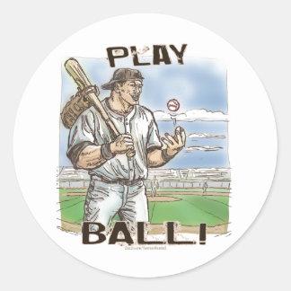 Play Ball! Sticker