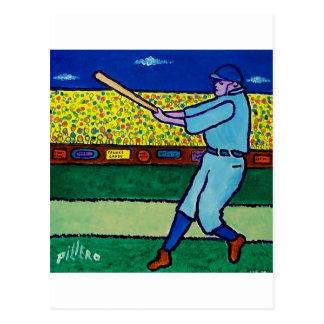 Play Baseball by Piliero Postcard