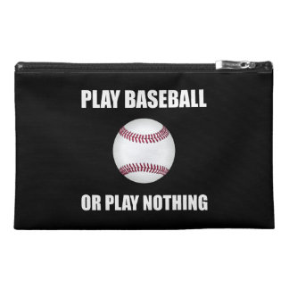 Play Baseball Or Nothing Travel Accessories Bags