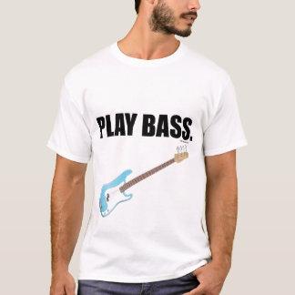 PLAY BASS TEE