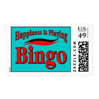 Play Bingo Postage
