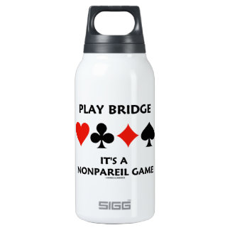 Play Bridge It's A Nonpareil Game Four Card Suits SIGG Thermo 0.3L Insulated Bottle