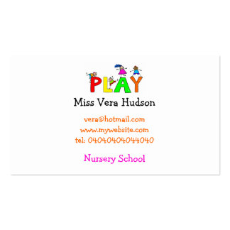 Play, Business Card