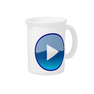 Play Button Drink Pitcher