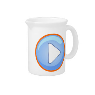 Play Button Drink Pitchers