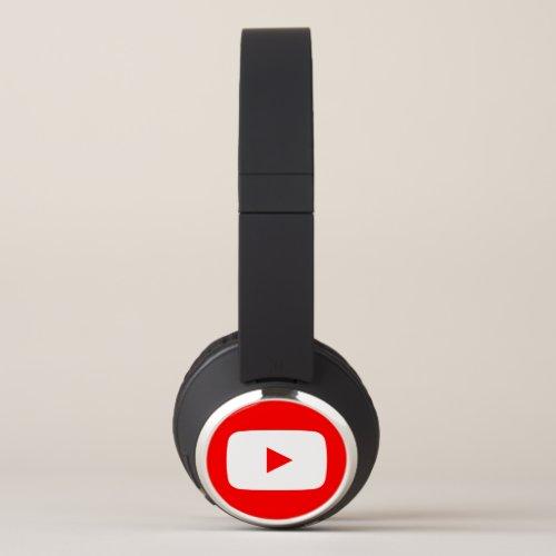 Play button headphones