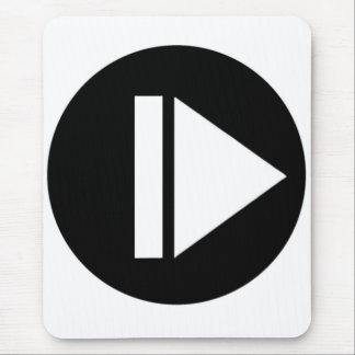 Play Button Mousepad