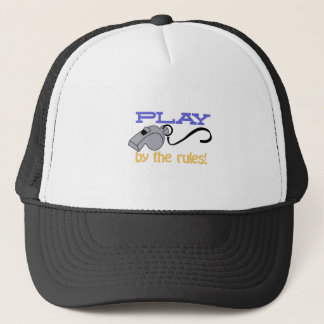 Play By Rules Trucker Hat